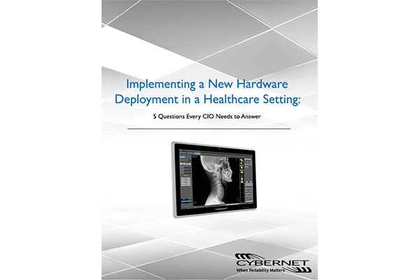 Implementing a Hardware Deployment in a Healthcare Setting